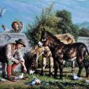 Ilardi Vittorio, 50 x 70, холст, масло